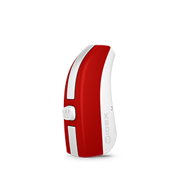 widex evoke red