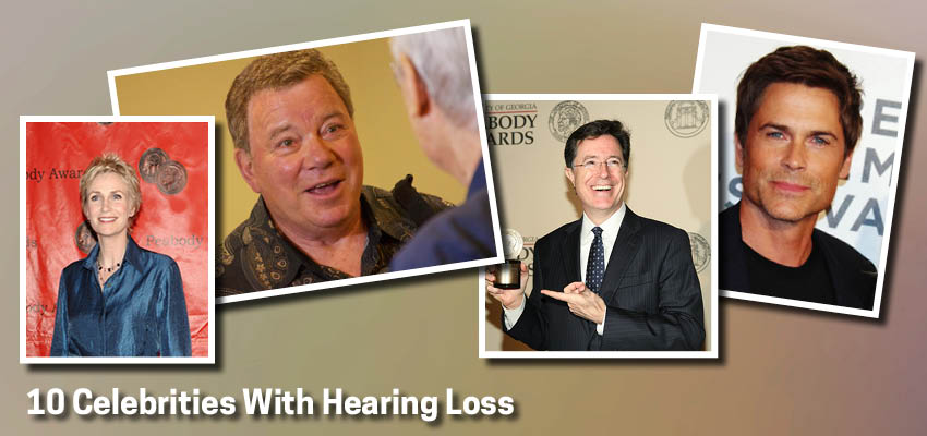 10 Celebrities With Hearing Loss