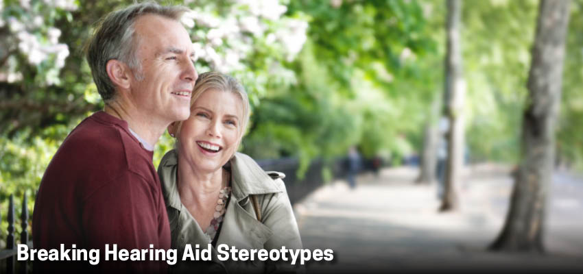 Breaking Hearing Aid Stereotypes