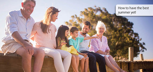 Planning summer fun with hearing loss