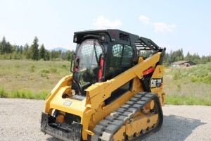 Caterpillar 299D2 XHP equipped with Enhanced Guard