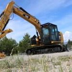 Caterpillar 313F Bolt-On Excavator Screen Guard