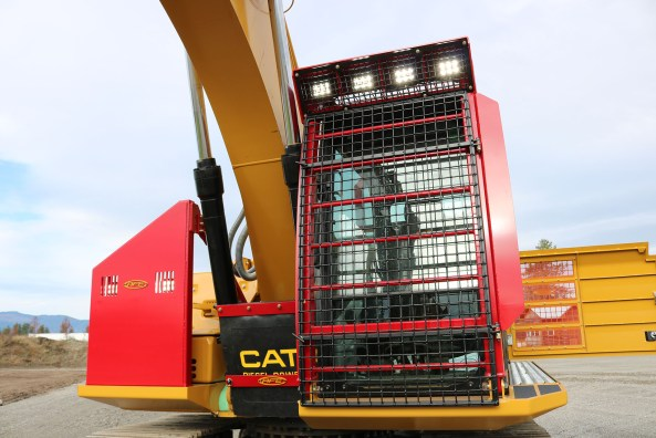 Cat 323FL Bolt on Excavator with Cab Guard