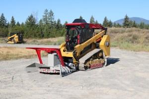 Caterpillar 299D3 XE Steel Track ~ HEA Defender Ballistic Guarding