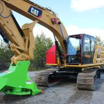 Caterpillar 323 New Generation Defender Ballistic Window