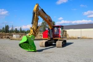 AFE Excavator Forestry Disc Mulcher