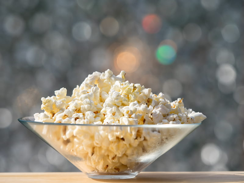 popcorn as a snack healthy hit or