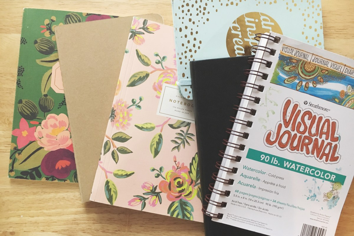 10 Things to do with a Blank Notebook