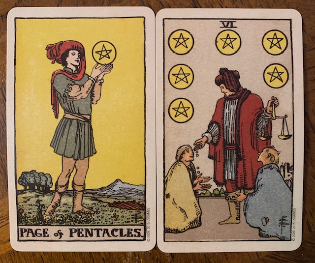 The Brother | healing through the six of pentacles – Heart&Moon