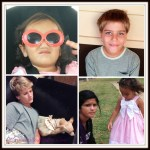 Family photo collages