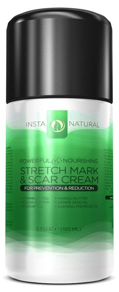 Stretch Mark Scar Cream By Instanatural Heartbeats Soul Stains