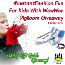 #InstantFashion Fun For Kids With WowWee Digiloom Giveaway