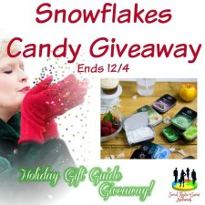 Snowflakes Candy Giveaway