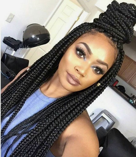 Cute Box  Braid  Hairstyles  How To Make Them Heart Bows