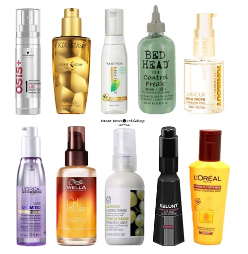 Best Hair Serum In India For Dry Frizzy Amp Damaged Hair