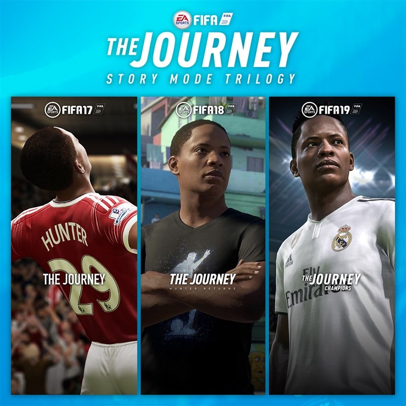 피파 17, 18, 19 FIFA 17, 18, 19 The Journey Story Mode Trilogy