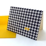 Houndstooth Card - Best Friend Forever.