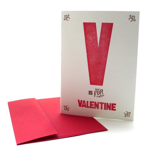 V is for Valentine's Day