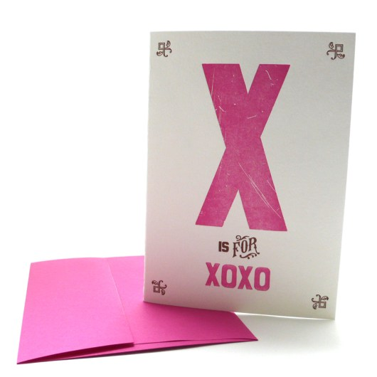 X is for XOXO