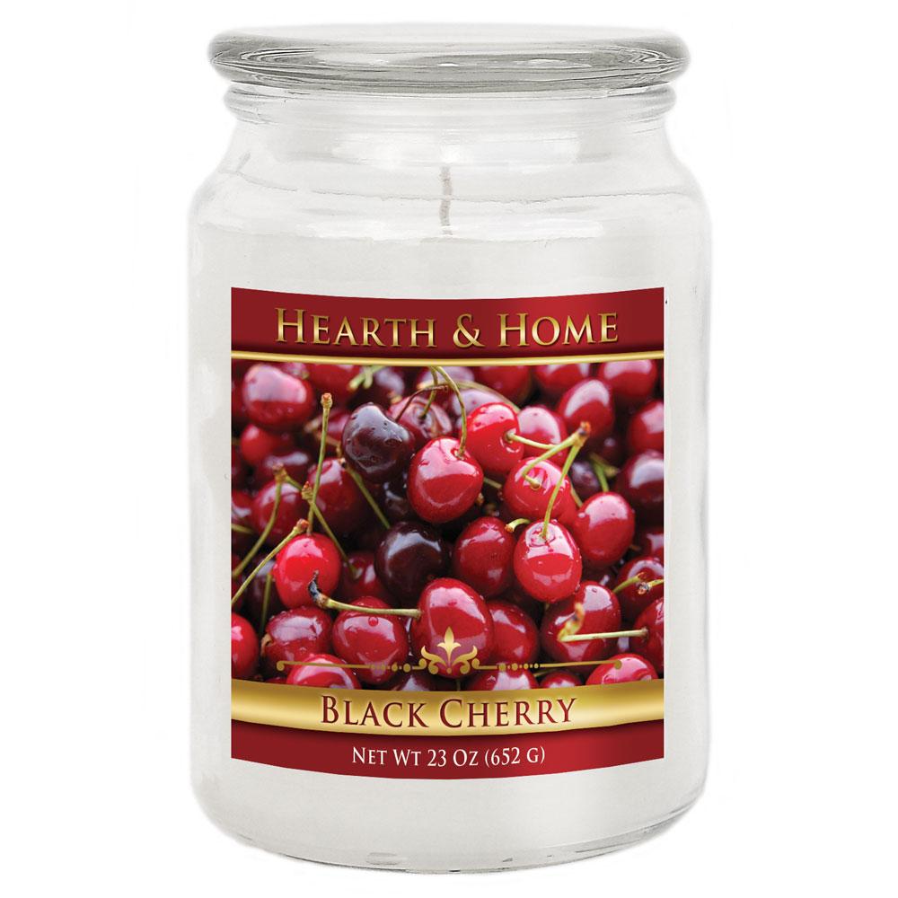 Black Cherry - Large Jar Candle