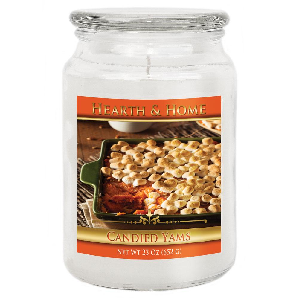 Candied Yams - Large Jar Candle