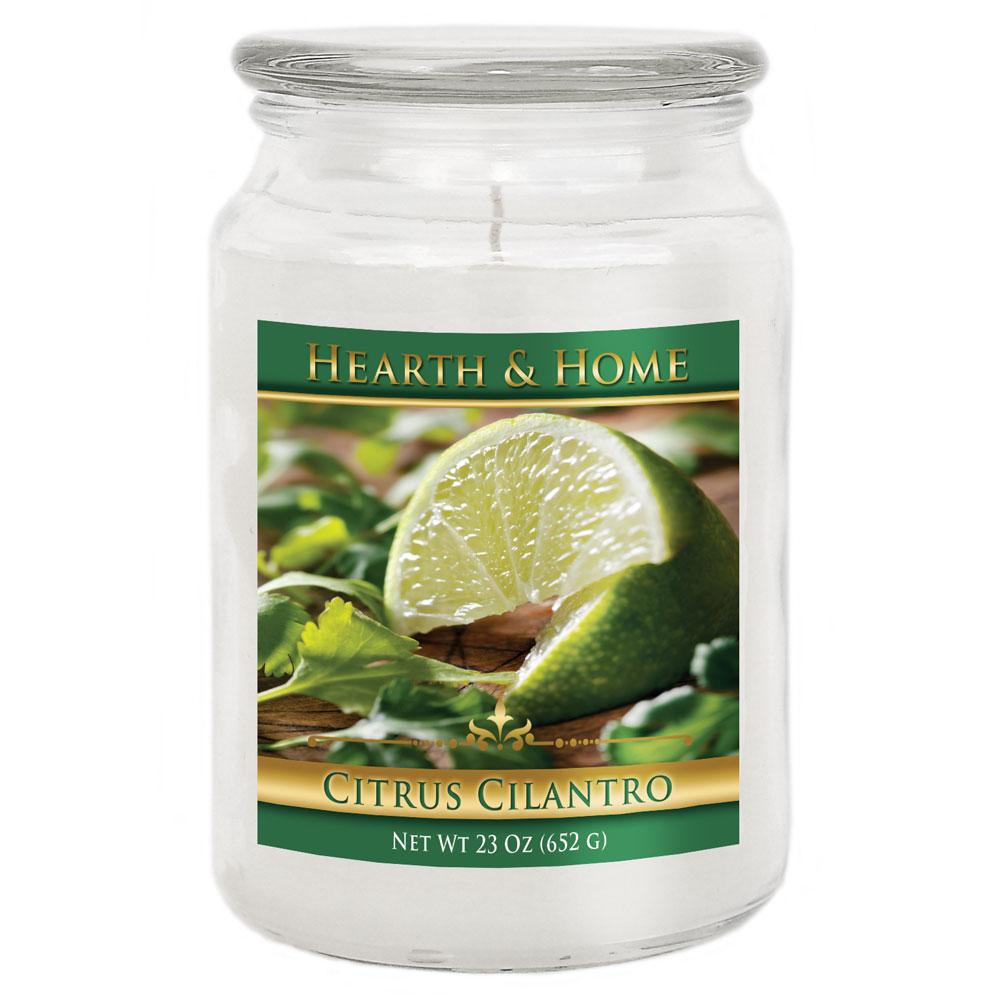 Citrus Cilantro - Large Jar Candle
