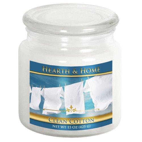 Clean Cotton - Medium Jar Candle