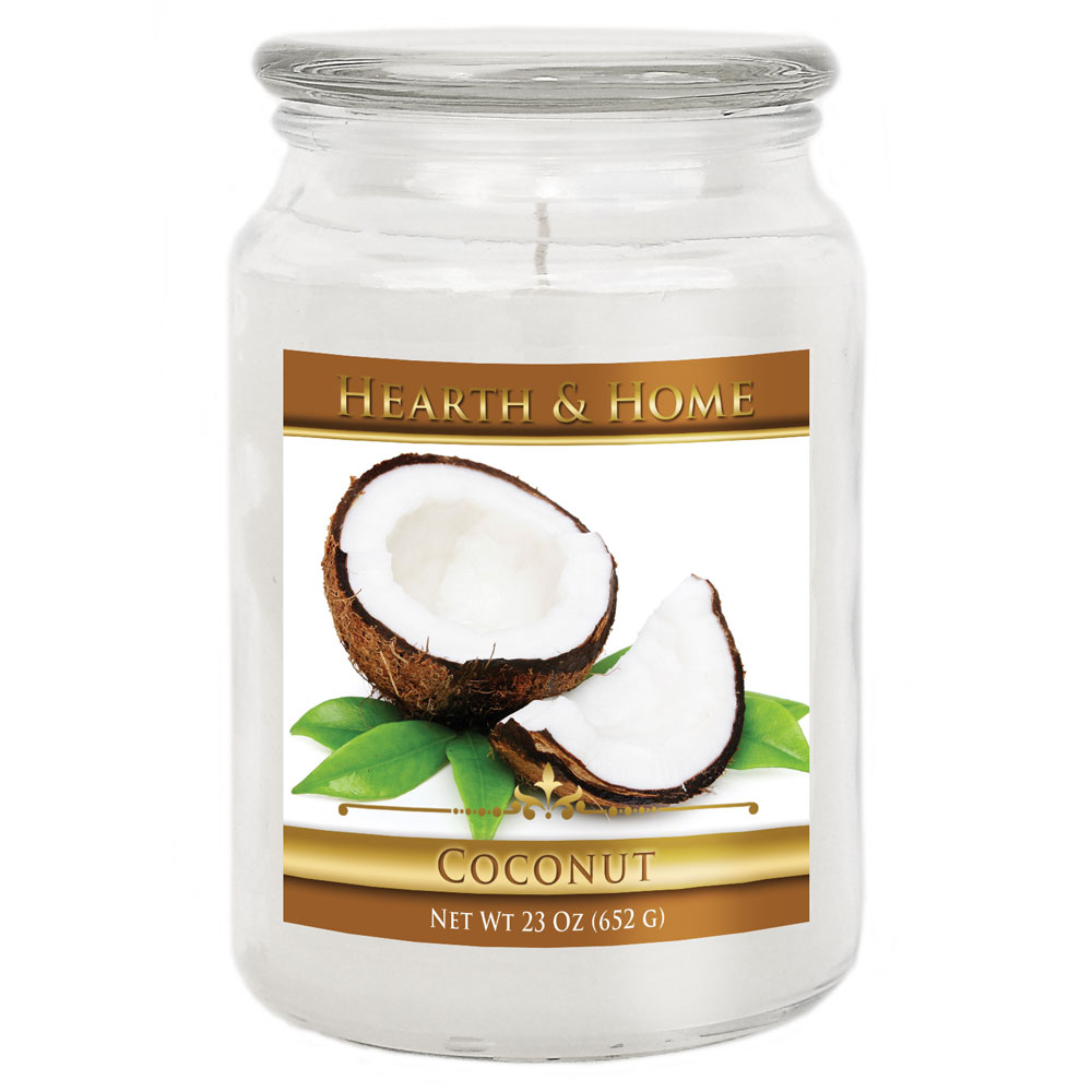 Coconut - Large Jar Candle