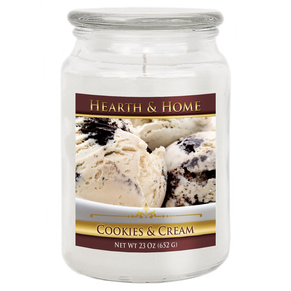 Cookies & Cream - Large Jar Candle