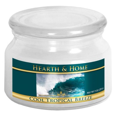 Cool Tropical Breeze - Small Jar Candle