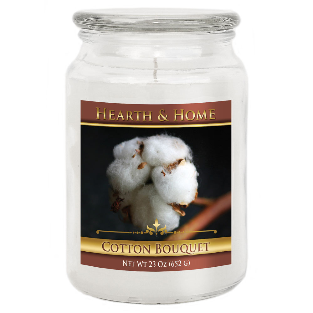 Cotton Bouquet - Large Jar Candle