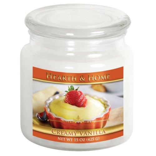 Creamy Vanilla - Medium Jar Candle