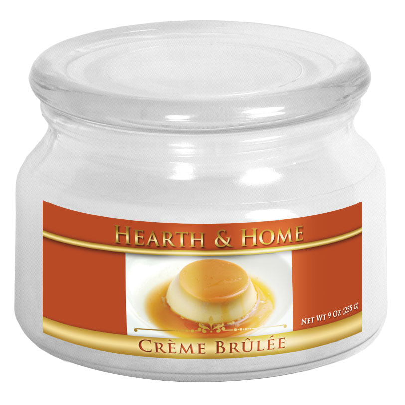 Creme Brulee - Small Jar Candle
