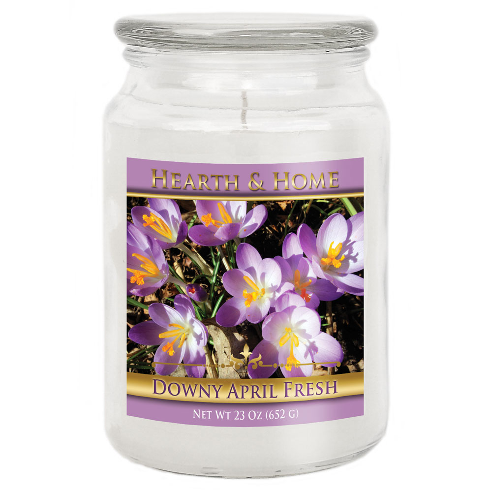 Downy April Fresh - Large Jar Candle