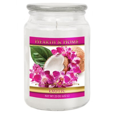 Exotic - Large Jar Candle