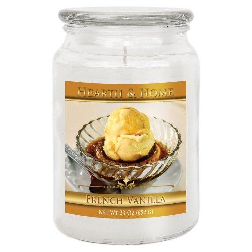 French Vanilla - Large Jar Candle