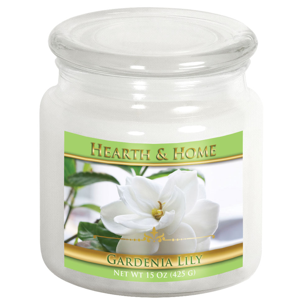 Gardenia Lily - Medium Jar Candle
