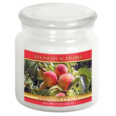 Georgia Peach - Medium Jar Candle