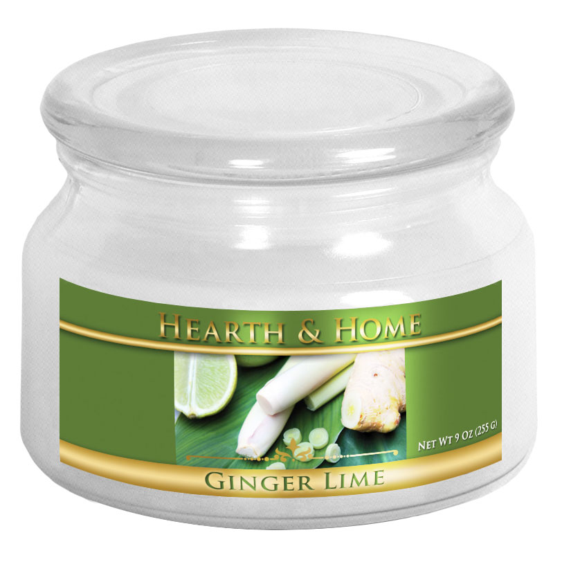Ginger Lime - Small Jar Candle
