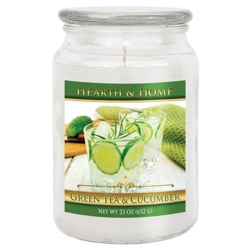 Green Tea & Cucumber - Large Jar Candle