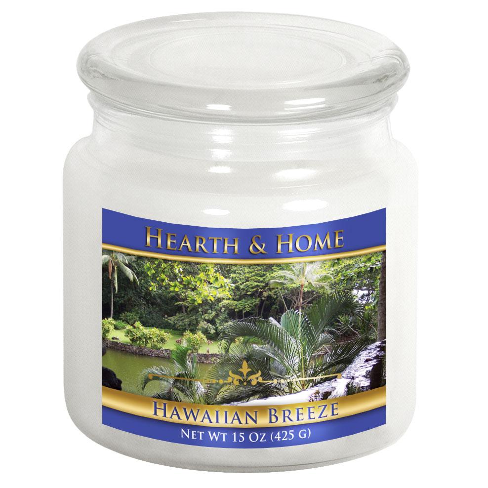 Hawaiian Breeze - Medium Jar Candle