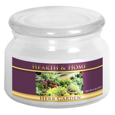 Herb Garden - Small Jar Candle