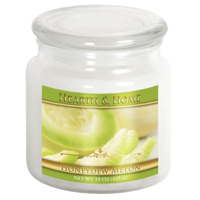 Honeydew Melon - Medium Jar Candle