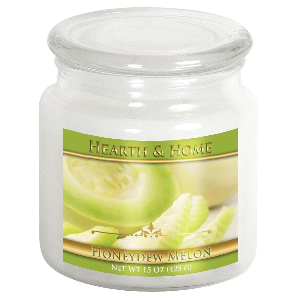 Honeydew Melon - Medium Jar Candle