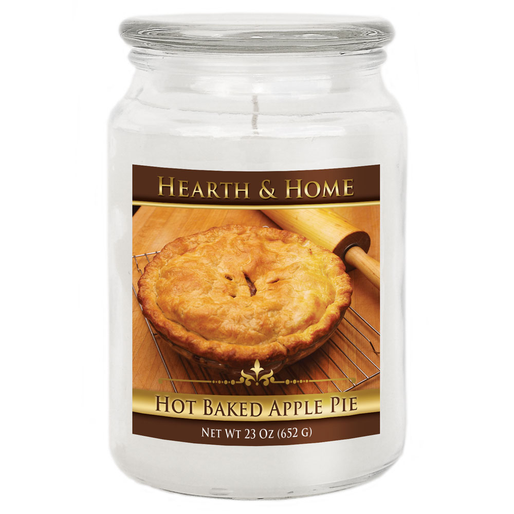 Hot Baked Apple Pie - Large Jar Candle