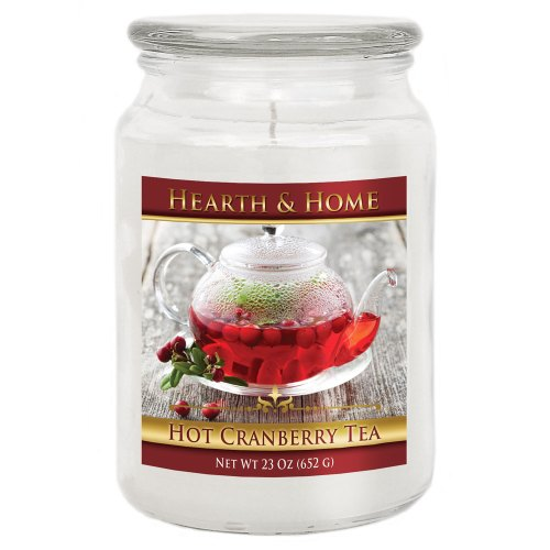 Hot Cranberry Tea - Large Jar Candle