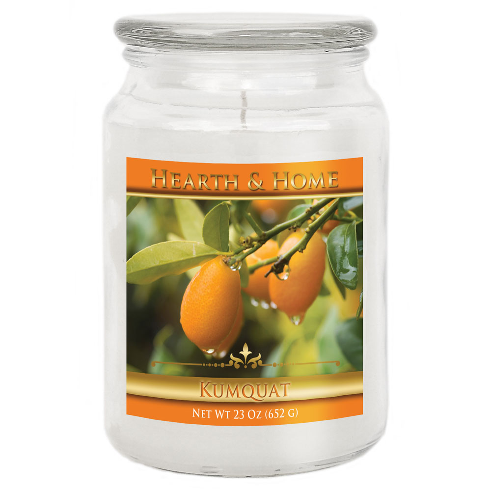 Kumquat - Large Jar Candle
