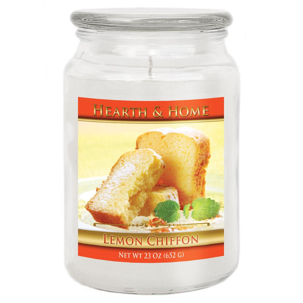 Lemon Chiffon - Large Jar Candle