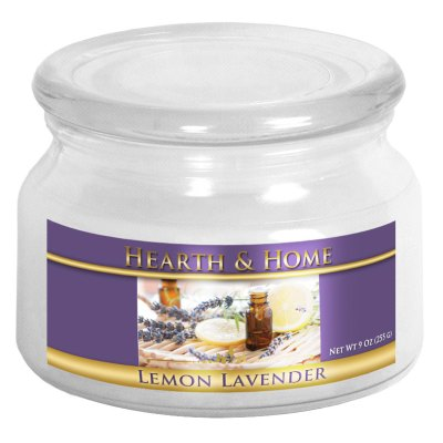 Lemon Lavender - Small Jar Candle