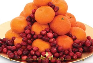 Mandarin Cranberry Scented Candles
